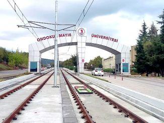 omu campus tram line