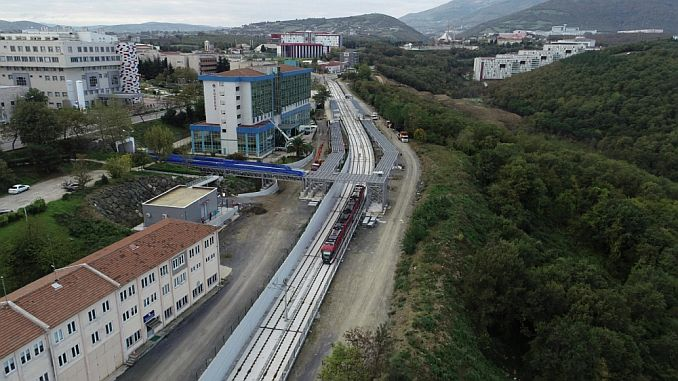 tests on the omu rail system