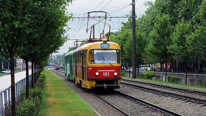 a person renting a tram in russia