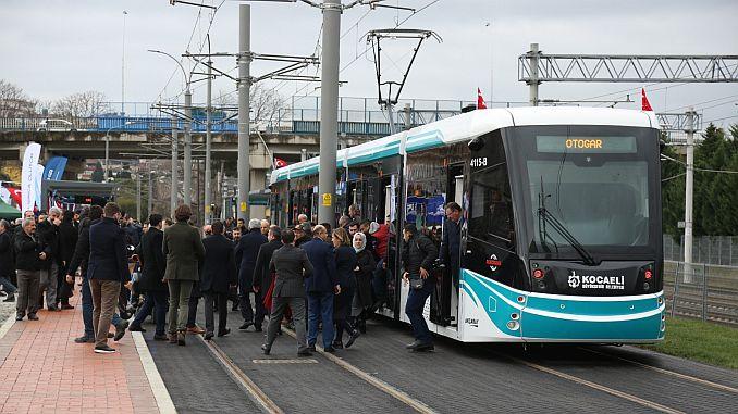 sekapark beach road tram line service