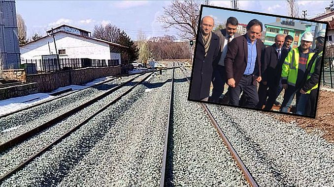 tcdd has examined the samsun kalin railway line