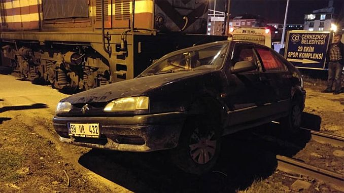 accident at night