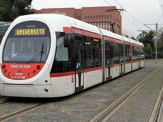 Niet verlaat de tram OM Device