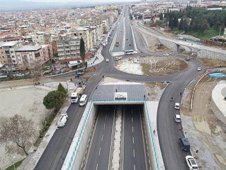 Turgutlu stora investeringar både i den intensiva transport donemi
