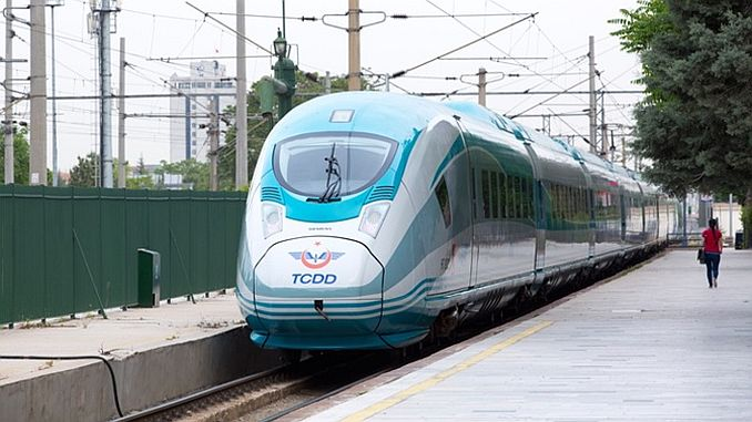 The history of rail transport in Turkey
