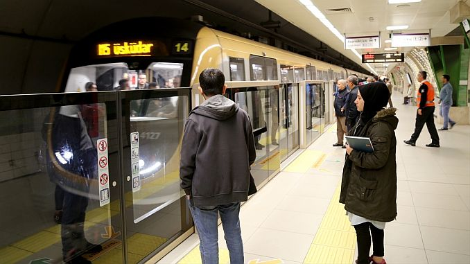 uskudar cekmekoy metro stops guzergahi surah