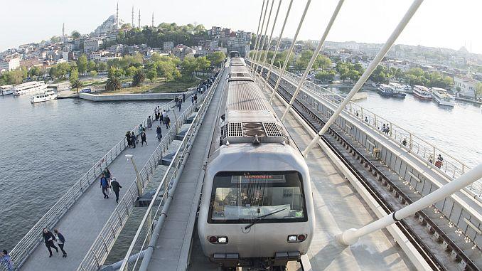 yenikapi haciosman metro hatti duraklari ve guzergahi