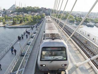 Yenikapi haciosman Metro-Linn stoppt a guzergahi