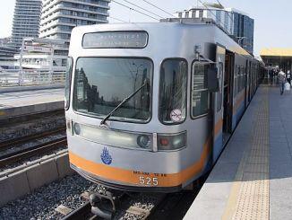 Yenikapi Kirazli Metrohaltestellen und Guzergahi