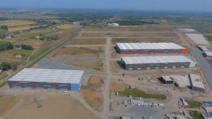 Tekkekoy logistics center will be a cop
