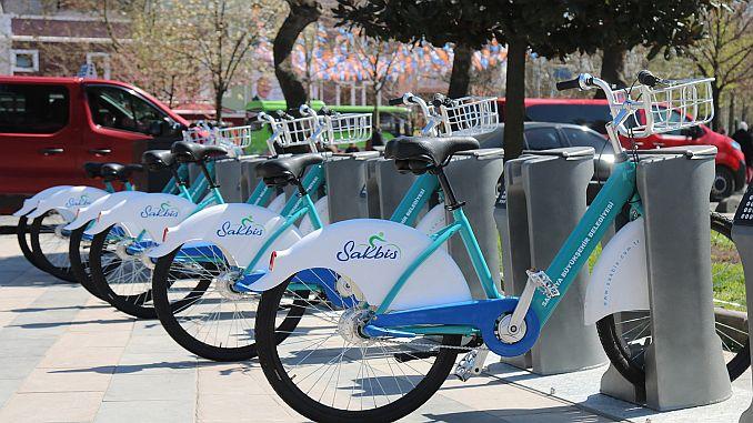 Smart Bicycles in Sakarya Start Service
