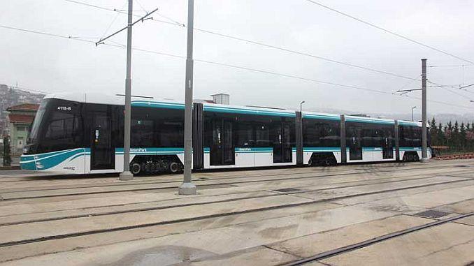 akcaray fleet is getting on the tram rails