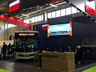 το anadolu isuzu busbus συμμετείχε στην εκδήλωση του Βερολίνου με τη νεοσυσταθείσα μέση ζωή