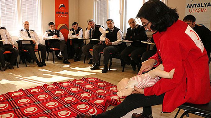 first aid training for antalya asas