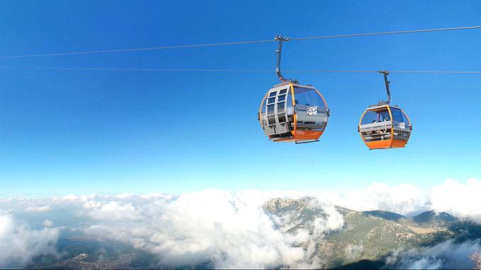 the expected mujde for the babadag ropeway project