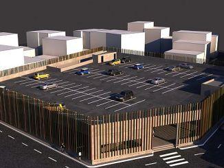 bursa gursuya new market area and parking lot coming