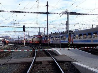 two trains in the Czech Republic