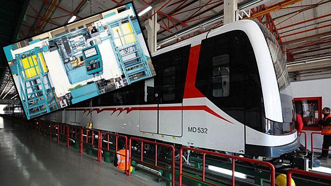 με το μηχάνημα που παράγεται από dirinler έχει φέρει επανάσταση στη συντήρηση του σιδηροδρομικού συστήματος