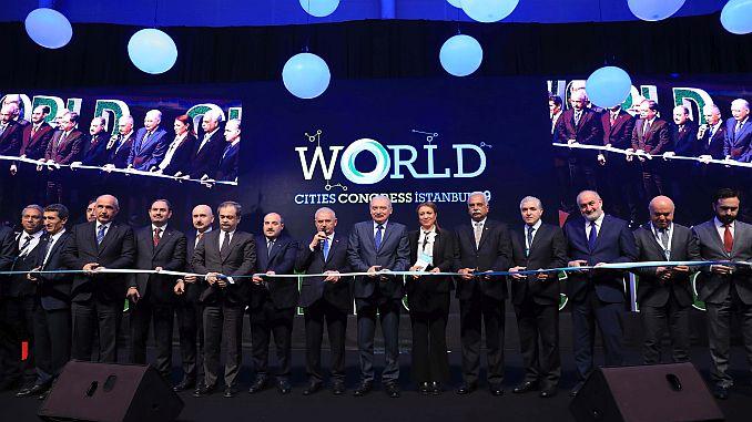 wereld van slimme steden van Istanbul conventie begonnen