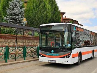There are a lot of bus in Eskisehir