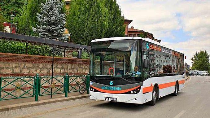 Hay muchos autobuses en Eskisehir