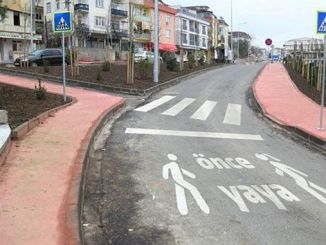 special pedestrian roads are planned
