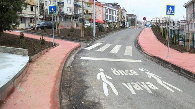 σχεδιάζονται ειδικοί δρόμοι πεζών
