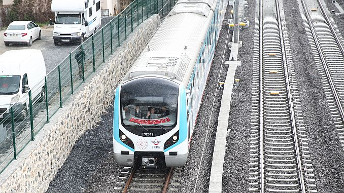 gebze ring marmaray line opened to service with toren
