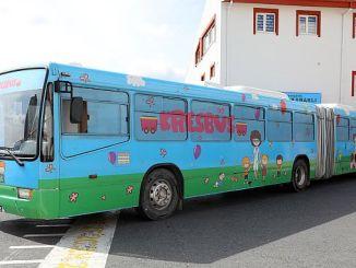 ibb jonge mensen met kresbus
