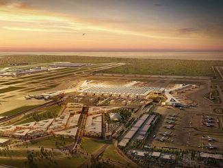 De luchthaven van Istanbul begint in april