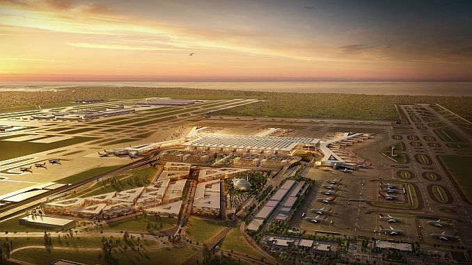 Istanbul airport will start moving in April
