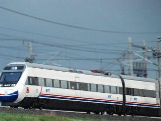 Das Istanbul-Schnellzugprojekt kapikule wird gestartet