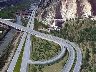 motorvägar trabzon till staden miljoner TL