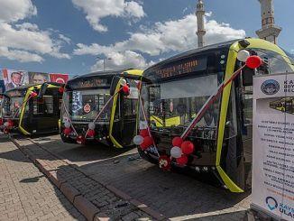 kayseri atópanse con autobuses eléctricos
