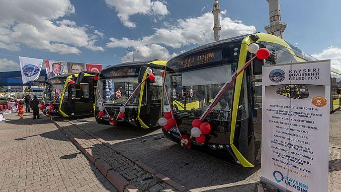 kayseri meet electric buses