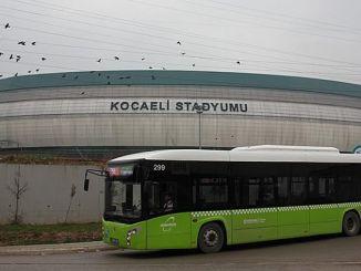 «Коджаели» стадионына ауыспай тасымалдау