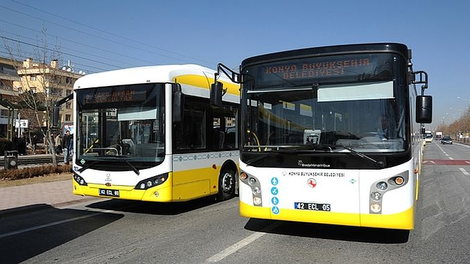 public transport rally arrangement