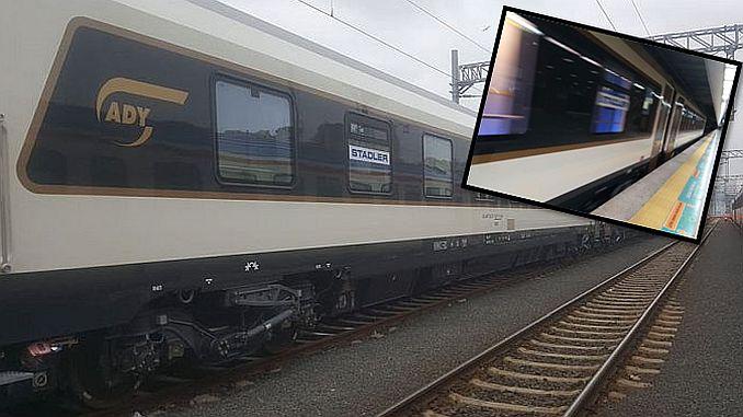 مرمرة أول قطار دولي يغادر