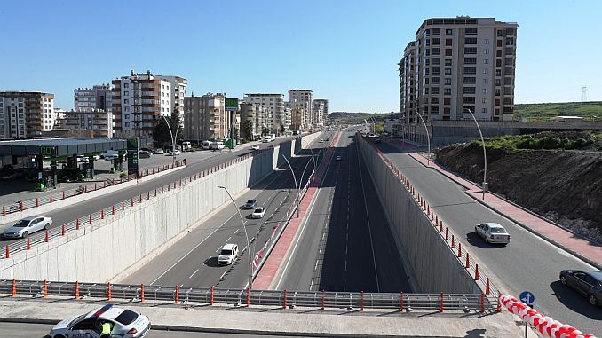 narlidere viyaduk and koprulu junction toren was opened to service