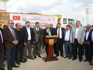 sanliurfa big road to harranda concrete road atagi