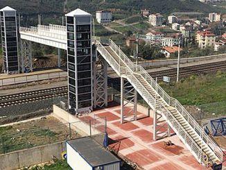 Tatvan til havnen i fodgænger fodgængerovergang konstruktion