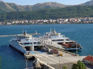 new construction works at the Tatvan pier
