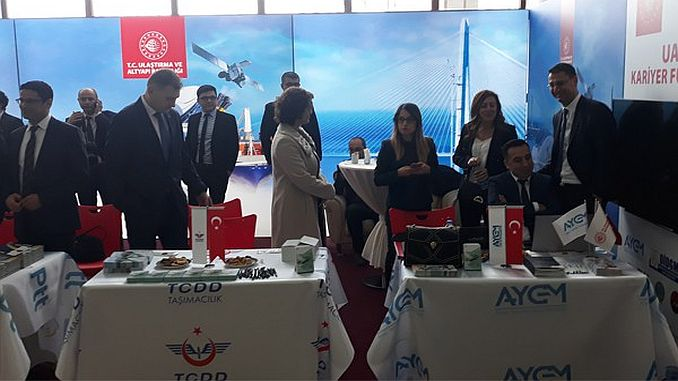 tcdd participates in transport trade fair