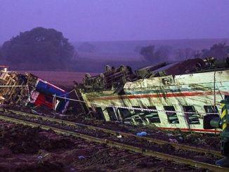 فوت السكك الحديدية التركية، وفقا للالسبب في ذلك هو أن تحطم قطار كورلو