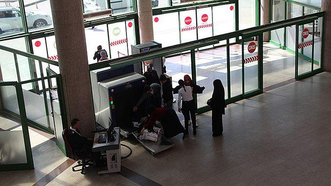 ulasimpark security at the terminal bus terminal