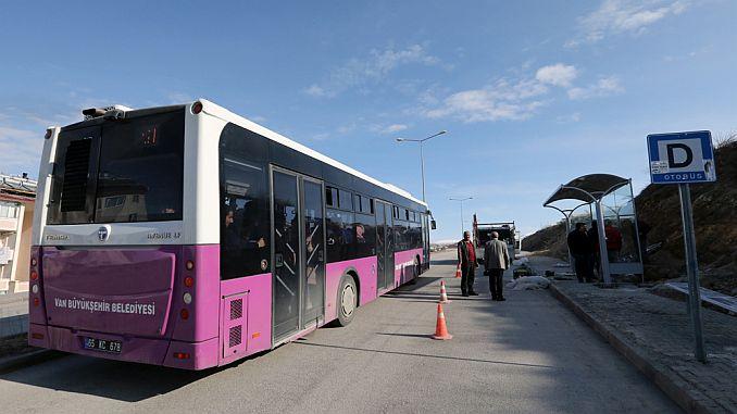 Общината на Ван Буюкшехир е създадена нова автобусна спирка