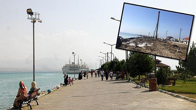 Van mål kust brygga för allmänheten åter öppnas