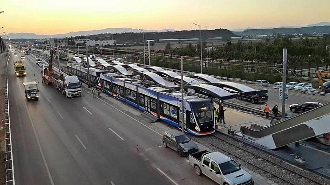 Als u een bus in de tramlijn heeft, begint de reis na maart