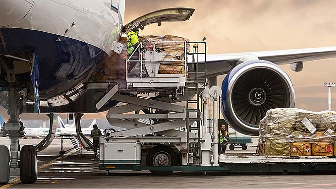 ينيسهير الشحن الجوي