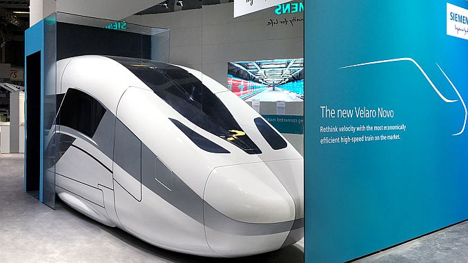 The high-speed train will be on the tracks